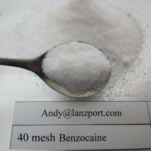 Benzocaine 100% Pass UK Customs Anesthetic Drugs pictures & photos