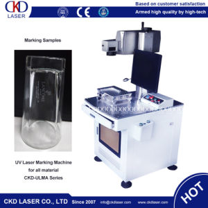 Indelibly Inscribing UV Laser Engraving Machine for Cosmetic pictures & photos