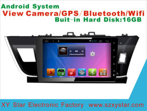 Android System Car DVD GPS Navigation for Corolla 10.1 Inch with Bluetooth/WiFi/TV/MP4/USB pictures & photos