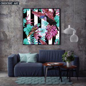 Summer Pop Colour Wall Art Tropical Wildlife Canvas Print pictures & photos