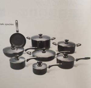 Stamping Hera Non-Stick Coating Aluminium Cookware A1006 pictures & photos