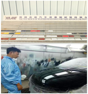 Acrylic Car Paint Usage with OEM Service pictures & photos