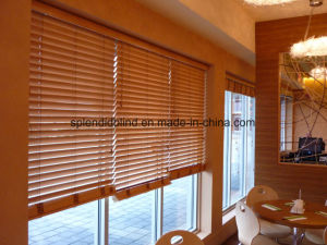 Home Use Windows Wooden Blinds Quality Blinds pictures & photos