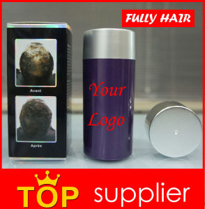 MSDS 23G Stock Product Fully Hair Building Fibers Powder for Hair Thickening