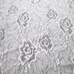 Highly Elastic Knitting Fabric Lace with 85%Nylon 15%Spandex