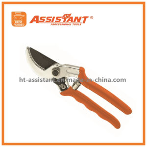 Drop Forged Bypass Titanium Pruning Shears with Aluminum Handles pictures & photos