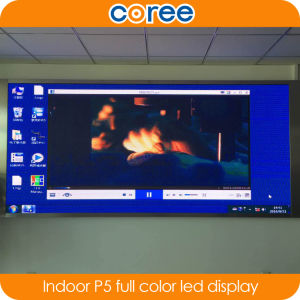 Indoor P5 High Brightness Full Color LED Display pictures & photos