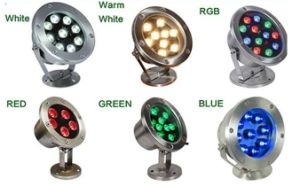 Blue/Green/Cool White Light12/24V Underwater LED Aquarium Lights pictures & photos