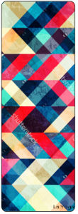 Geometry Pattern Print Kids Yoga Mat Playmat Natural Eco Friendly pictures & photos