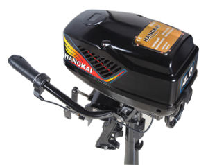 Brushless Hangkai 48V 800W Electric Outboard Motor 3.6HP pictures & photos