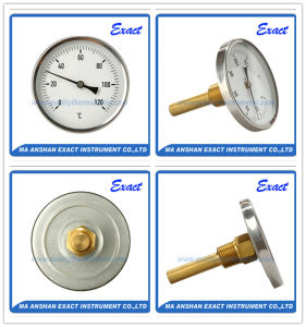 Hot Water Thermometer - Back Mount Thermometer - Temperature Gauge pictures & photos