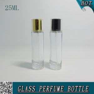 25ml Transparent Empty Glass Spray Perfume Bottle with Bayonet Mouth pictures & photos