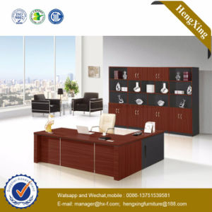 China L-Shape Lab Wooden Office Furniture (HX-GD009c) pictures & photos