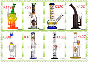 OEM/Wholesale Duck Pyrex Glass Smoking Water Pipe High Quality Recycler Tobacco Tall Color Bowl Glass Craft Ashtray Glass Pipes Heady Beaker Bubbler Handcrafted pictures & photos