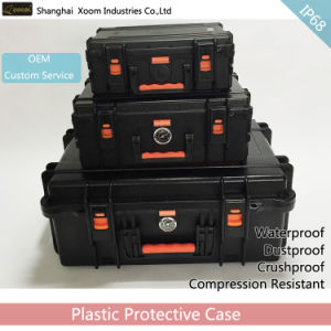 Large Hard Waterproof Trolley Case Easy Move Watertight Case Lighting Powerbank Case pictures & photos