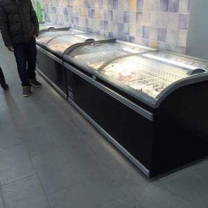 Supermarket Commercial Chiller Chest Freezer pictures & photos