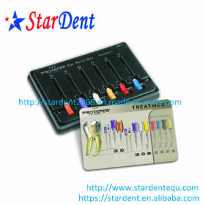Dental Files Dentsply Large Tapered Rotary Files for Hand Use pictures & photos