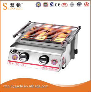 BBQ Grill Gas&Natural Barbecue 2 Burners Grill 0086-13926161435 pictures & photos