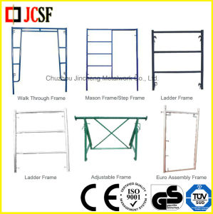 Mason Frame&Ladder Frame&Walk Through Frame for Frame Scaffolding System pictures & photos