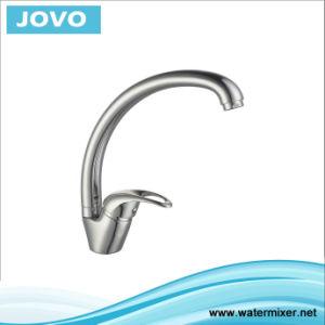 Zinc Body Single Handle Kitchen Mixer&Faucet Jv73309 pictures & photos