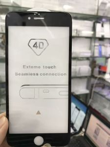 4D Full Cover Tempered Glass Screen Protector for iPhone