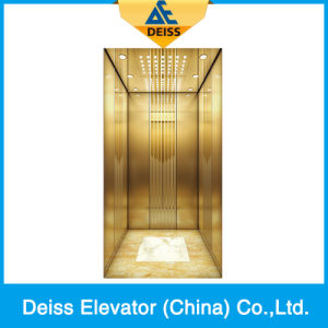 Ti-Plated Vvvf Traction Passenger Home Villa Lift with Opposite Door pictures & photos