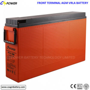 FT12-200ah Deep Cycle Front Terminal AGM Battery for Telecom pictures & photos