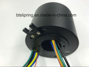 Customized Through Hole Slip Ring with All Wires Exit on One Side pictures & photos