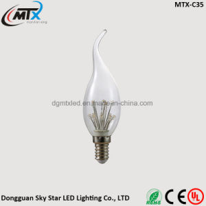 Energy Saving Dimmable C35 Light Bulb Vintage E27 Candle Bulb pictures & photos