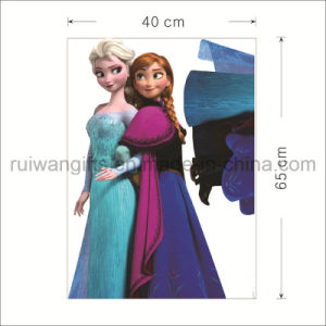 Elsa Cartoon Star Vinyl Wall Removable Sticker for Kids Room pictures & photos