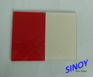 China High Quality Decorative Waterproof Back Painted Glass (Lacquered Glass) for Interior Decoration Applications pictures & photos