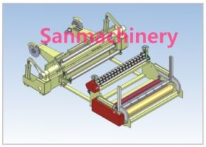 Paper Slitting and Rewinding Machine/Slitter and Rewinder (SANSR-1600) pictures & photos