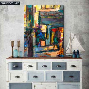 Impressionism Abstract Street Wall Art pictures & photos