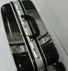 Promotional Wholesale PC Travel Trolley Bag, Hand Luggage Suitcase with Wheels pictures & photos