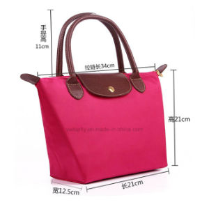 High Quality Gift Fashion Foldable Nylon Shopping Tote Bags pictures & photos