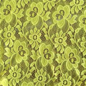 Nylon Crochet Lace Fabric for Lady Dress pictures & photos