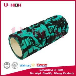 14*33cm High Density Camo Hot Stamping Foam Roller Fitness Equipment pictures & photos