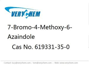 Pharmaceutical 7-Bromo-4-Methoxy-6-Azaindole CAS619331-35-0 High Purity Customization pictures & photos