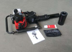 DPD-55 drop hammer post driver for fence installation 2 stroke pictures & photos