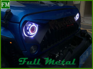 Colorized LED Halogen Angel Eyes Head Lights 40W with CREE LED Chip pictures & photos