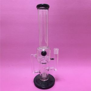 New Design Glass Water Pipes Oil Rig with Colorful Lips pictures & photos
