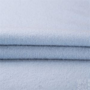 100% Double Sides Cashmere Fabrics for Winter Season in Blue