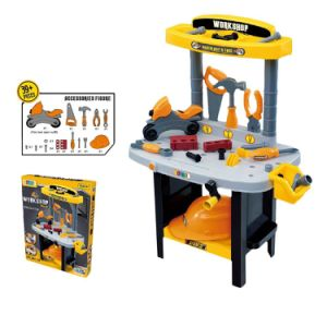 14358002- Play Set Kids Working Bench Tool Set Children Play House Plastic Toys for Kids Boys and Girls pictures & photos