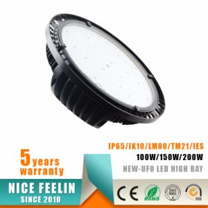 Ce RoHS UFO LED High Bay Light 100W/150W/200W Factory/Warehouse Lighting pictures & photos