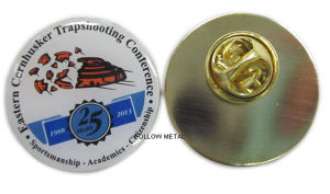 Offset Printing Aluminum Lapel Pin with Epoxy pictures & photos