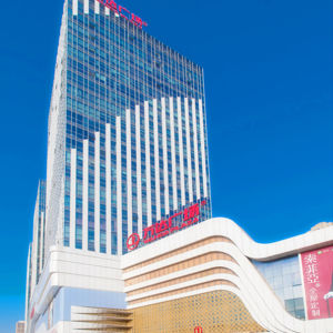 Aluminum Facade Panel for Wanda Plaza with Customized Specification pictures & photos