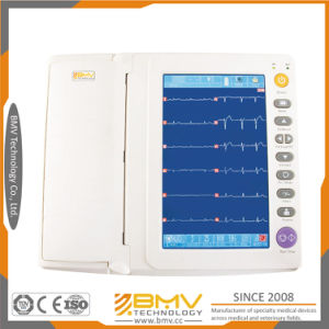 Color Touch Display 12 Lead ECG Machines (Bes1210bt) pictures & photos