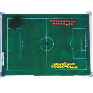 Professional Football Equipment Colored Magnetic Soccer Coach Board pictures & photos