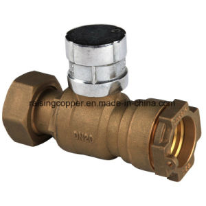 Lockable Brass Straight Ball Valve pictures & photos
