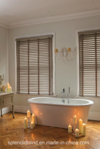 Quality Blinds Wooden Blinds Fashion Blinds Basswood Blinds pictures & photos
